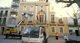 """L'Ajuntament de Blanes retira de la seva façana la pancarta amb el missatge """"Llibertat Presos Polítics"""""""