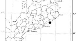 Un terratrèmol de 2,3 graus sacseja lleugerament la costa del Maresme