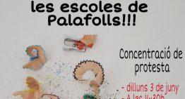 Convoquen un acte de protesta contra la massificació de les classes a Palafolls