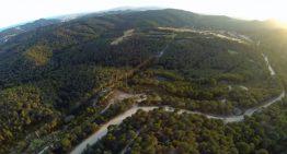 Aturem la C-32 enceta visites guiades als paratges per on s'ha fet la tala d'arbres