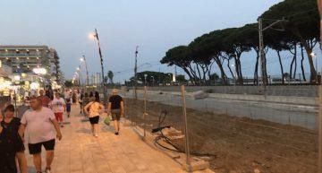 L'Ajuntament de Malgrat avisa d'un possible sobrecost en les obres de reforma del Passeig Marítim