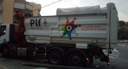 Un incident amb el camió d'escombraries deixa sense funcionament els semàfors aquest matí