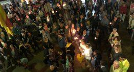 Centenars de persones es concentren contra la sentència del procés