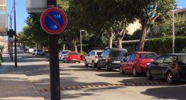 L'av Pau Casals elimina l'estacionament quinzenal