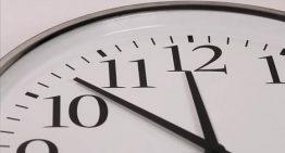 El rellotge s'endarrereix una hora aquesta propera nit