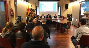 Empresaris del polígon i Ajuntament es reuneixen per posar en comú l'estat de les obres de millora