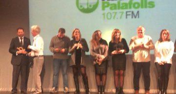 La Focal reconeix Ràdio Palafolls en la gala del 10è aniversari dels Docus a la Fresca