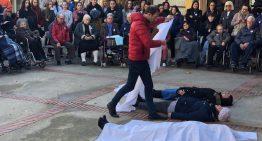 Palafolls torna a mostrar el seu rebuig a la violència masclista