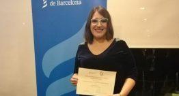 La historiadora palafollenca Marta Carrasco rep un premi de recerca en història de la medicina