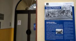 Malgratcol•locaplafons informatius davant d'edificis històrics