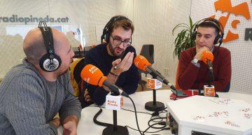 Ràdio Palafollscelebra el Dia de la Ràdio sortint al carrer