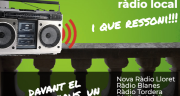 7 ràdios locals de l'Alt Maresme i la Selva Marítima s'uneixen per emetre una cançó conjuntament