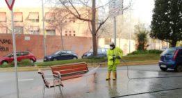 Malgrat posa en marxa treballs per desinfectar els carrers i també una borsa de voluntaris