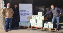 El Rotary Club Santa Susanna reparteix un miler de guants al geriàtric de Palafolls