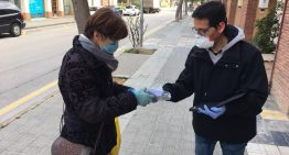 L'Ajuntament finalitza el repartiment de mascaretes a Palafolls