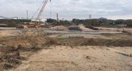Territori assegura que el pont de la carretera sobre la Tordera estarà acabat a l'octubre