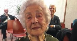 Mor Petronila Pijoan, l'àvia de Palafolls, amb 103 anys