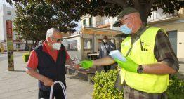 Blanes comença a lliurar avui 4.000 mascaretes arreu del municipi