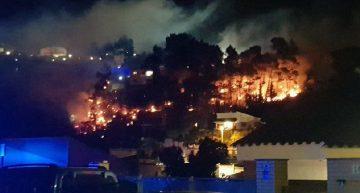 Preocupació per l'alt risc d'incendi