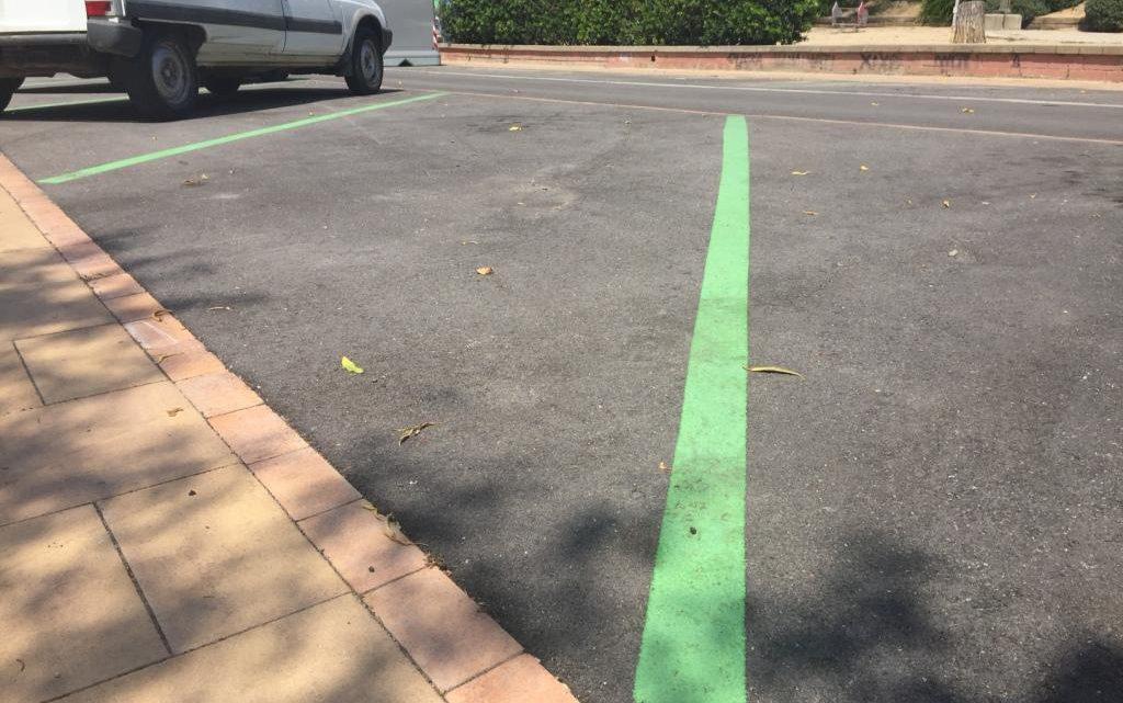 Finalitza l'estacionament de zona verda a Sant Lluís