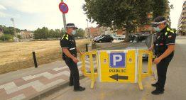 Blanes reactiva una zona d'aparcament gratuït amb 300 noves places a l'antic camp dels Pins