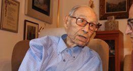 Mor als 110 anys Joaquim Illas Illas, l'home més gran de Blanes i de tot l'Estat