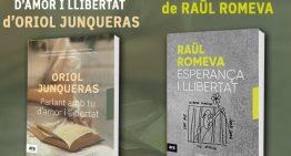 Presenten els llibres de Junqueras i Romeva a Palafolls