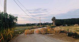 Aturades, per vacances, les obres del camí de la Ginesta