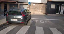Es reprèn la campanya de civisme en l'estacionament a Palafolls