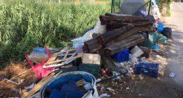 Augmenten, de nou, els abocaments incontrolats de residus a Palafolls