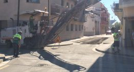 Comencen els treballs de reasfaltat al barri de Sant Lluís