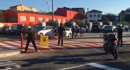 Primer dia amb les mesures de pacificació als carrers de la zona escolar