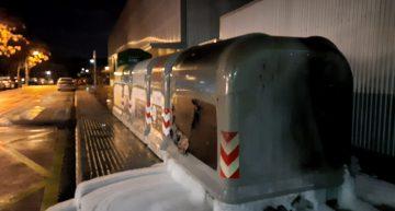 Palafolls porta gastats més de 9.000 euros en reposar contenidors vandalitzats