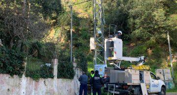 Detecten una vintena de defraudacions de fluid elèctric en una actuació ahir en diverses zones de Palafolls