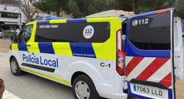 La Policia Local de Palafolls estrena una Unitat Mòbil de Trànsit