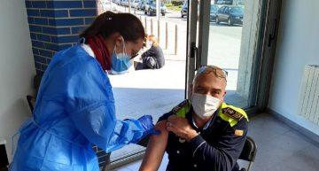La Policia Local de Palafolls comença a rebre la vacuna contra la Covid-19