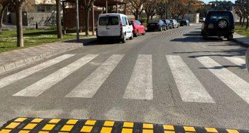 Palafolls reforça la seguretat viària amb nova senyalització i nous ressalts