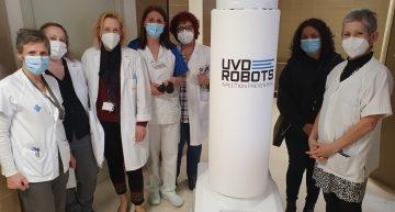 L'Hospital de Blanes utilitzarà robots per desinfectar les habitacions