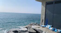 El Consell Comarcal demana protecció a l'ACA per les instal·lacions de sanejament del front marí