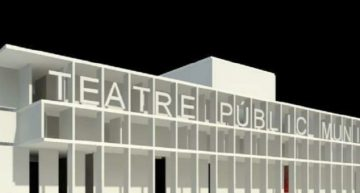 Malgrat recupera la idea d'un nou teatre