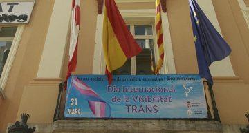 Blanes commemora el dia Internacional de la Visibilitat Trans