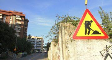 Restriccions de mobilitat a l'entrada de Blanes per la construcció d'una rotonda