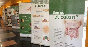 L'Hospital de Blanes acollirà una exposició sobre el càncer de còlon a partir de dimarts vinent