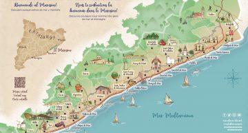 El mapa turístic del Maresme destaca el Castell com a atractiu de Palafolls