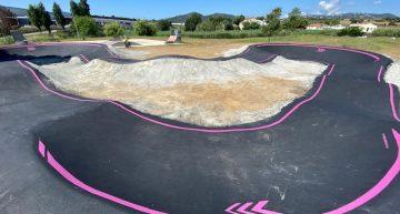 Finalitzat el Pump Track, l'atracció del nou Skate Park