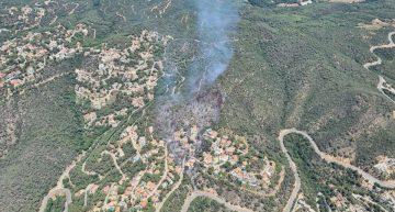 Controlat l'incendi de Lloret, que ha cremat un total de 6 hectàrees