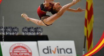 Naia Sánchez obté la medalla de bronze al Campionat d'Espanya de gimnàstica rítmica