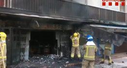 Un incendi en un restaurant proper al Passeig Marítim de Malgrat, sense ferits, obliga a evacuar a 24 persones