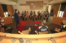 10 nous agents a la policia local de Blanes