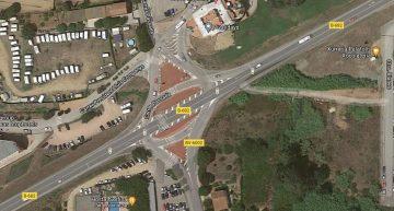 Una gran rotonda eliminarà els semàfors d'entrada a Palafolls